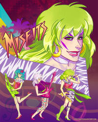 The Misfits by CrystalCurtisArt