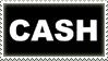 Johnny Cash Stamp by CrystalCurtisArt