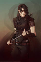 Tyr by CrystalCurtisArt