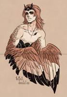 Harpy by CrystalCurtisArt