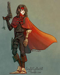 Vincent Valentine by CrystalCurtisArt