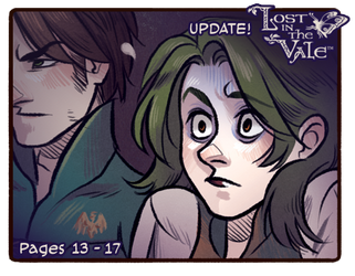 Lost in the Vale - Chapter 1 - Pages 13 - 17 UP! by CrystalCurtisArt