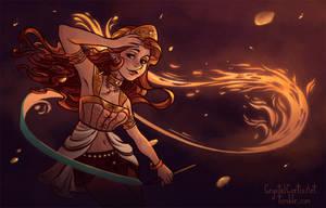 Emyra by CrystalCurtisArt
