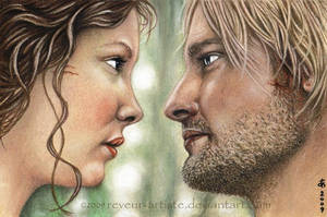 Kate and Sawyer by reveur-artiste