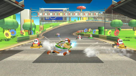 If Bowser Jr Was In Mario Kart Ds By Soniczenthefox On Deviantart