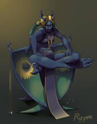 Nameless Gargoyle by Rizerax