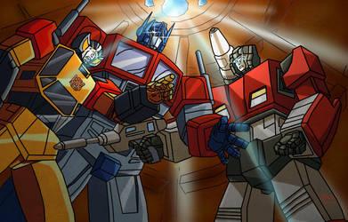 Sibling Rivalries by Clu-art