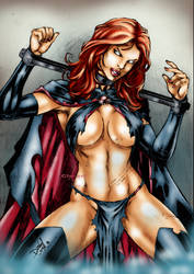 Marvels Goblin Queen by Clu-art