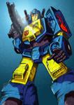 Transformers G1: Nightbeat by Clu-art