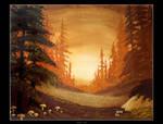 Autumn Dreams by Clu-art