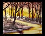 Dawn of Winter by Clu-art
