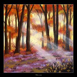 It Looks Like an Early Fall by Clu-art