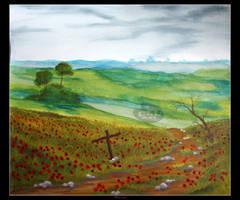 In Flanders Fields by Clu-art