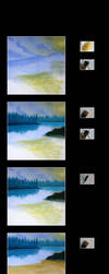 Paint with Clu IV by Clu-art