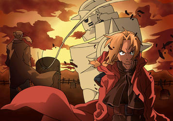 full metal alchemist by Locof