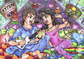 guitar hero by Locof