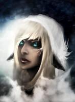 Snow elf by Mndcntrl