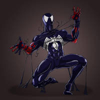 spidey vs. suit by sweetjimmy