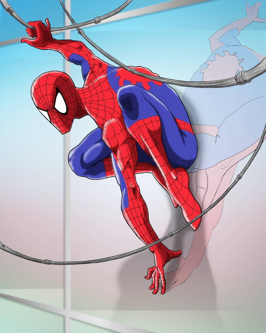 Spiderman at Sunset by sweetjimmy