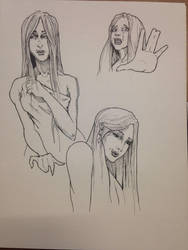 Bathsheba studies by sweetjimmy