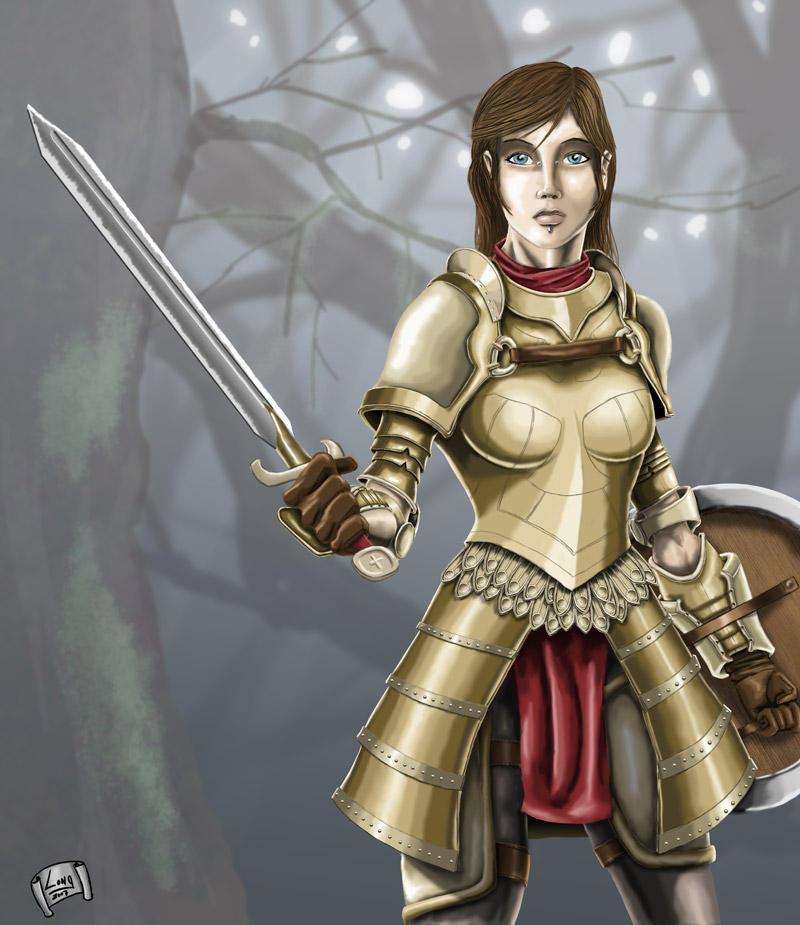 Golden Knight by sweetjimmy