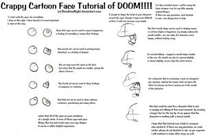 Cartoon Face Tutorial Request by OctoTrash