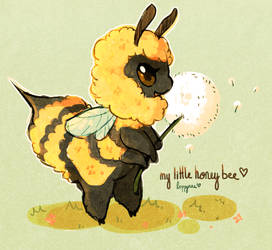 little honey bee! by loppyrae