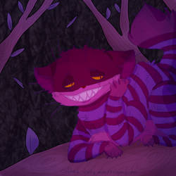 Cheshire Cat (collab with Polymorpox) by Yukineko-chan-Voca97