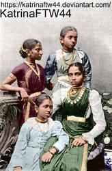 4 Tamil Girls by KatrinaFTW44