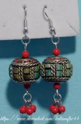 Nepali Bead Earrings by KatrinaFTW44