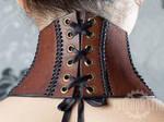 Neck corset (back) by Tvirinum