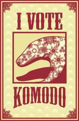 I Vote Komodo by ashclaimed