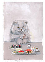 Sushi Cat- The Temptation by SushiLoversClub
