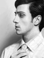 Aaron Johnson by agnes-green