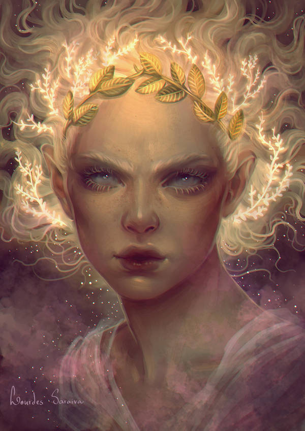 Golden One by agnes-green