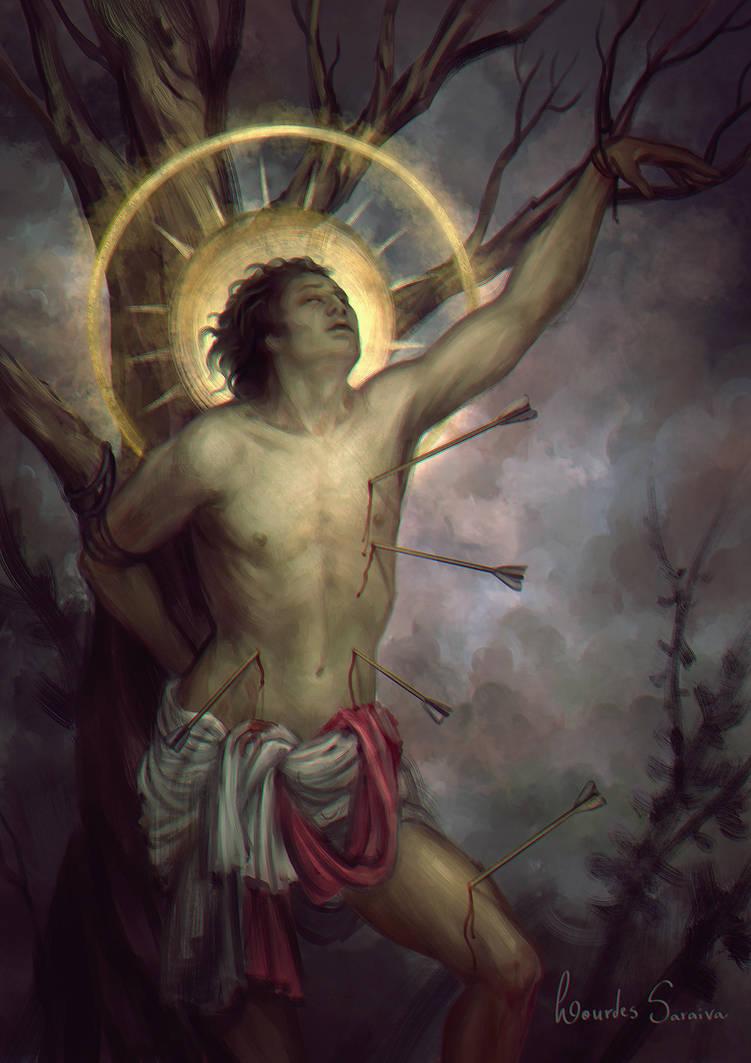 Saint Sebastian by agnes-green