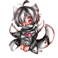 :Chibi Commission: Fleesveon (4/5) by Silvers-Ace