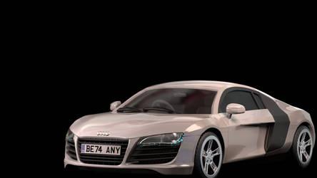 Audi R8 Advanced CG Model - VRay Render by BethsFienneArt