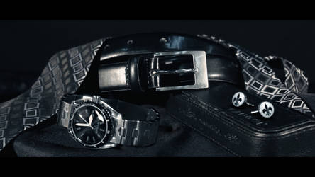 CGI VFX Compositing - Watch and Cufflinks by BethsFienneArt