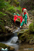Blonde Elf by MiciaGlo