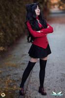 Tohsaka Rin cosplay by MiciaGlo