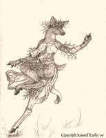 Natures' Dancer by RussellTuller