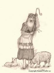 The Shepherdess by RussellTuller