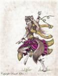 Purple Dancer by RussellTuller