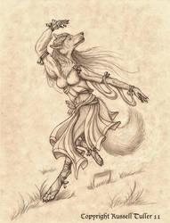 Wolf Dancer by RussellTuller