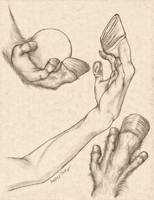 Equus Hand Anatomy Study by RussellTuller