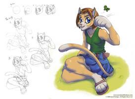 Fur001 Cat Girl + Demo by Quasimanga