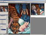 Desktop018 - WIP Colors1 by Quasimanga