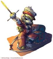 Norway Pirate Rat by Quasimanga