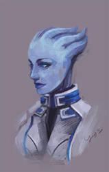 Dr. Liara T'soni by spicyroll